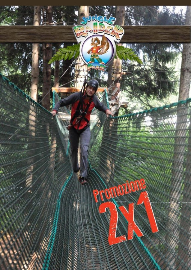 Jungle Raider Park parco avventura