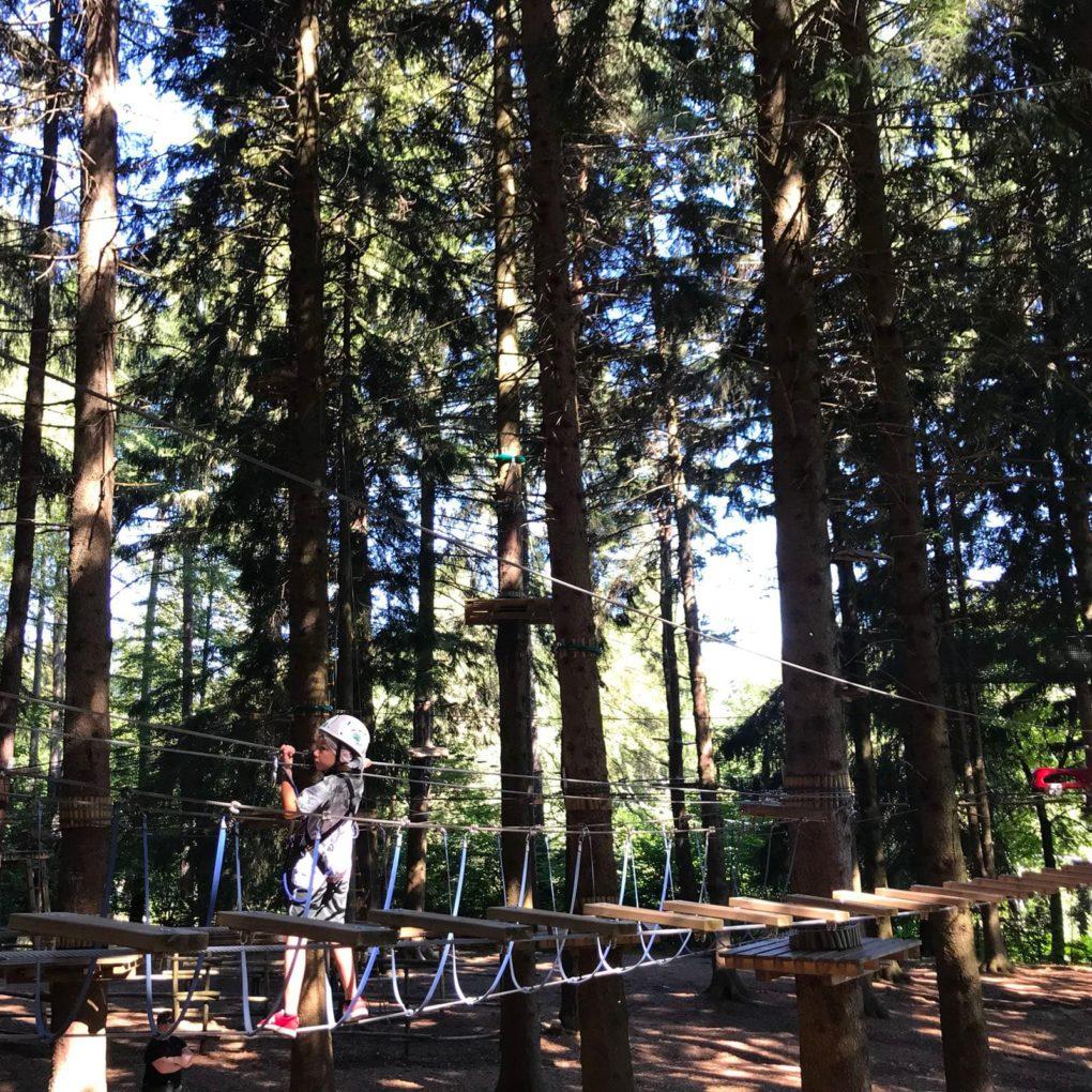 Percorso avventuroso per ragazzi a Albavilla