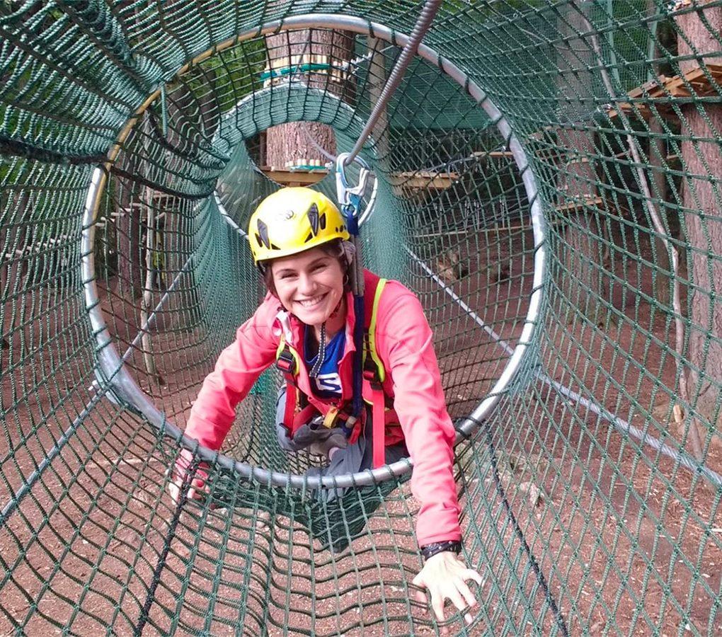 Tunnel sugli alberi per ragazzi e adulti ad Albavilla