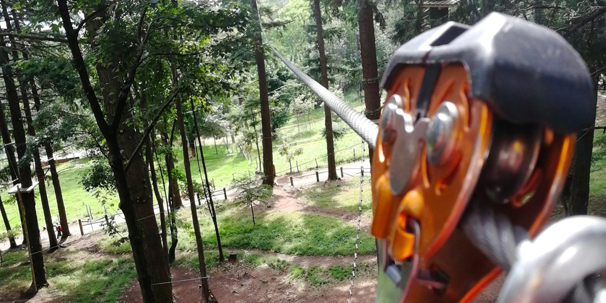 Parco avventure per famiglie ad Albavilla