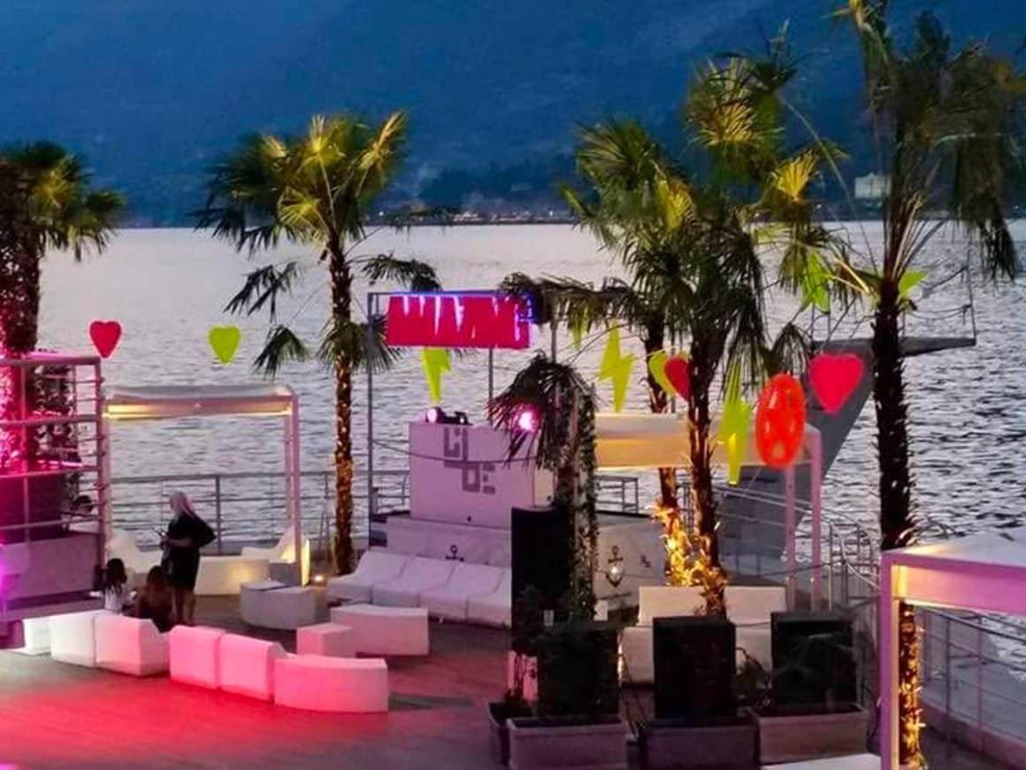 Addio al nubilato in discoteca a Bellagio