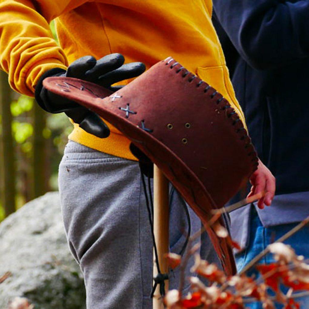 Caccia al tesoro e giochi nel bosco per bambini