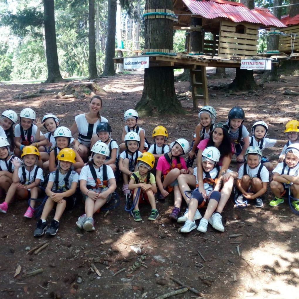 Escursioni e gite per grandi gruppi di bambini