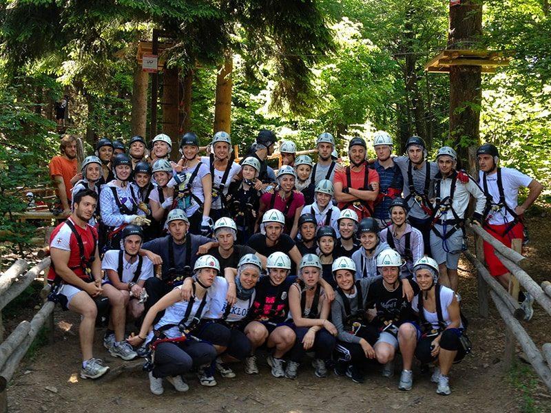 Gite scolastiche al parco avventura Lombardia