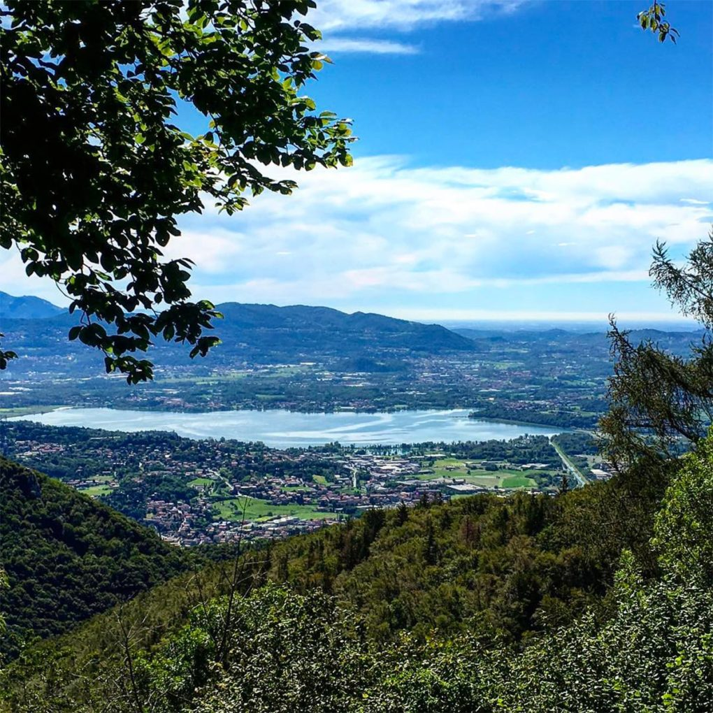 Paesaggi e percorsi nella località Alpe del Vicerè