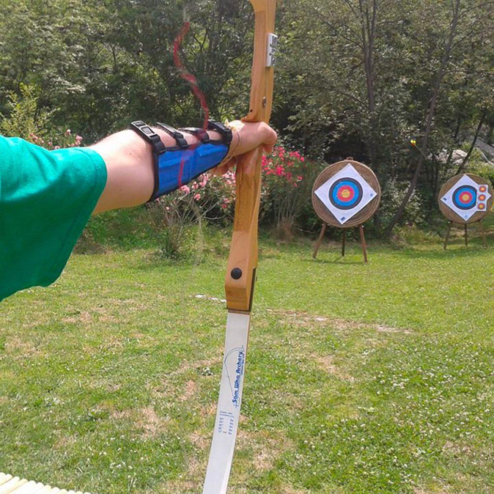 Tiro con l'arco e attività per tutta la famiglia al parco di Civenna