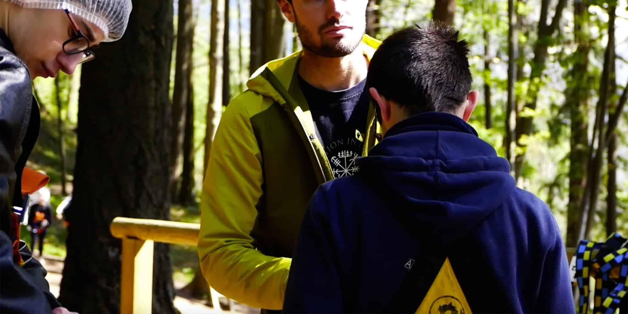 Istruttori dei parchi avventura in Lombardia