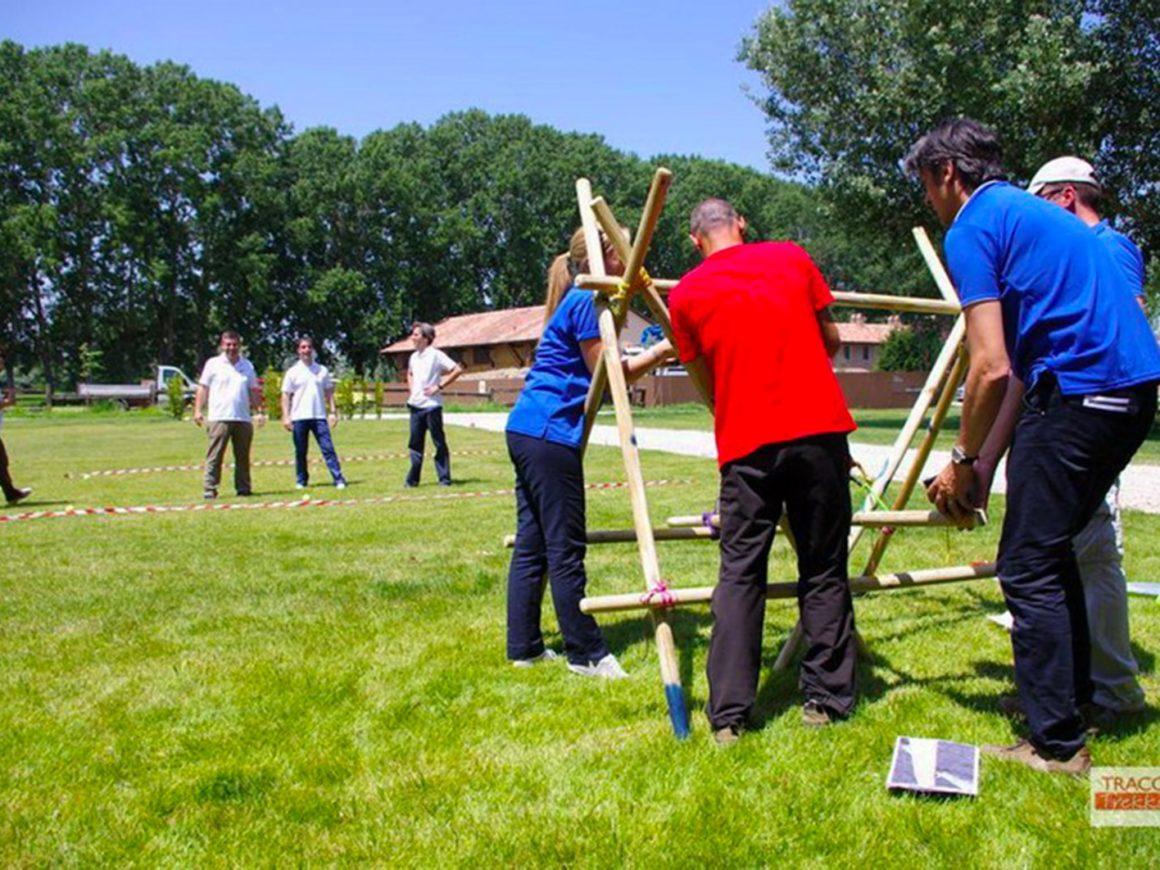 Giochi per team building per aziende vicino a Bergamo