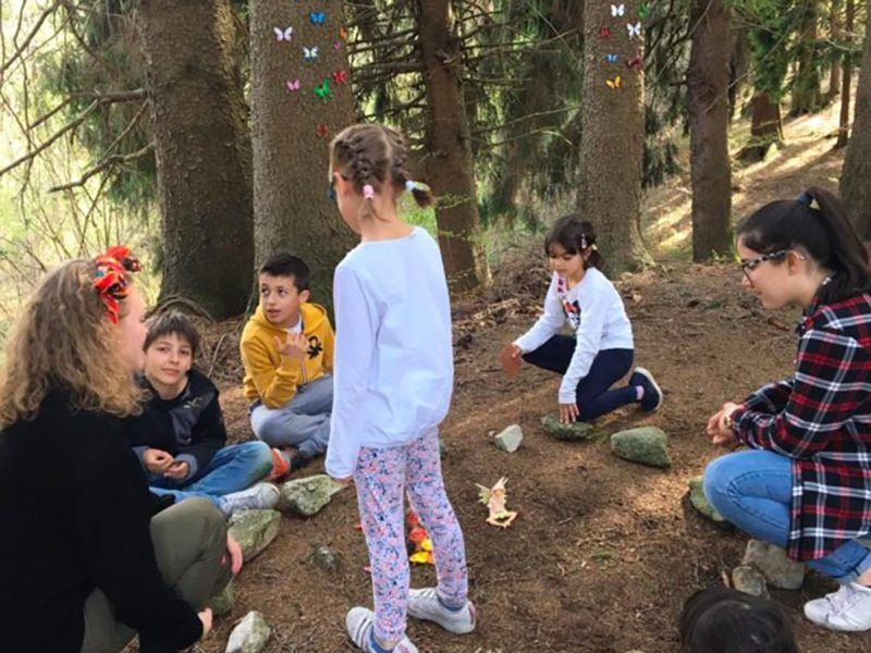 Fiabe e giochi all'aperto per bambini in Lombardia