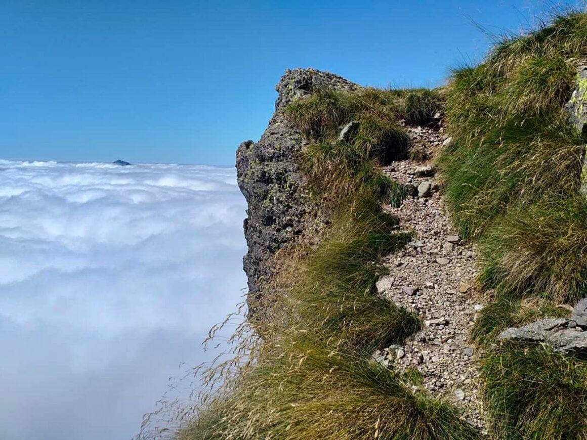 Sentieri impegnativi nelle montagne vicino a Lecco